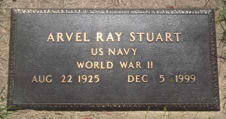 STUART (VETERAN WWII), ARVEL RAY - Newton County, Arkansas | ARVEL RAY STUART (VETERAN WWII) - Arkansas Gravestone Photos