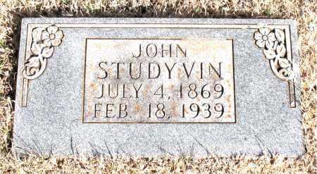 STUDYVIN, JOHN - Newton County, Arkansas | JOHN STUDYVIN - Arkansas Gravestone Photos