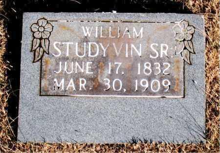 STUDYVIN SR., WILLIAM - Newton County, Arkansas | WILLIAM STUDYVIN SR. - Arkansas Gravestone Photos
