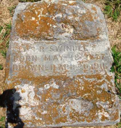 SWINDLE, S R - Newton County, Arkansas | S R SWINDLE - Arkansas Gravestone Photos