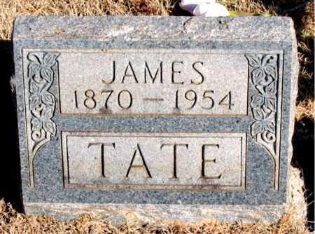 TATE, JAMES - Newton County, Arkansas | JAMES TATE - Arkansas Gravestone Photos