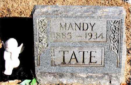 TATE, MANDY - Newton County, Arkansas | MANDY TATE - Arkansas Gravestone Photos