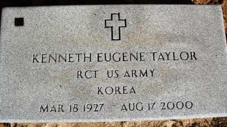 TAYLOR  (VETERAN KOR), KENNETH EUGENE - Newton County, Arkansas | KENNETH EUGENE TAYLOR  (VETERAN KOR) - Arkansas Gravestone Photos