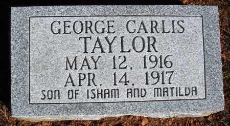 TAYLOR, GEORGE CARLIS - Newton County, Arkansas | GEORGE CARLIS TAYLOR - Arkansas Gravestone Photos
