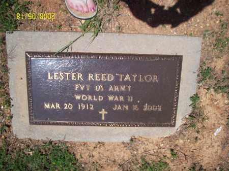 TAYLOR  (VETERAN WWII), LESTER REED - Newton County, Arkansas | LESTER REED TAYLOR  (VETERAN WWII) - Arkansas Gravestone Photos