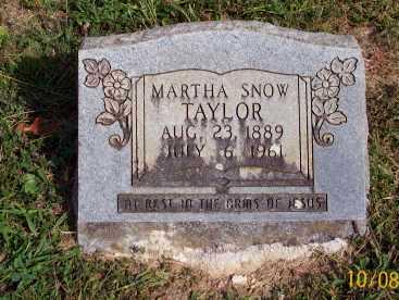 TAYLOR, MARTHA - Newton County, Arkansas   MARTHA TAYLOR - Arkansas Gravestone Photos