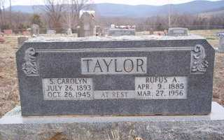 TENNISON TAYLOR, S. CAROLYN - Newton County, Arkansas | S. CAROLYN TENNISON TAYLOR - Arkansas Gravestone Photos