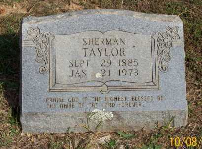TAYLOR, SHERMAN - Newton County, Arkansas | SHERMAN TAYLOR - Arkansas Gravestone Photos