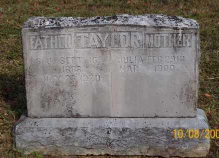 TAYLOR, S. J. - Newton County, Arkansas | S. J. TAYLOR - Arkansas Gravestone Photos