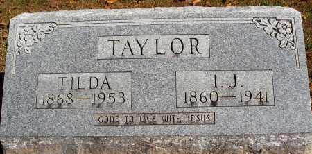 SNOW TAYLOR, TILDA - Newton County, Arkansas   TILDA SNOW TAYLOR - Arkansas Gravestone Photos
