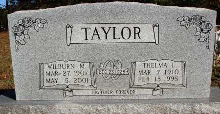 HOLLAND TAYLOR, THELMA L. - Newton County, Arkansas | THELMA L. HOLLAND TAYLOR - Arkansas Gravestone Photos