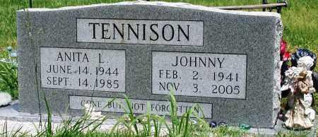 TENNISON, ANITA L - Newton County, Arkansas   ANITA L TENNISON - Arkansas Gravestone Photos