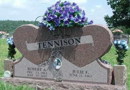 TENNISON, ROBERT A - Newton County, Arkansas | ROBERT A TENNISON - Arkansas Gravestone Photos