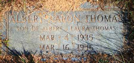 THOMAS, ALBERT AARON - Newton County, Arkansas | ALBERT AARON THOMAS - Arkansas Gravestone Photos