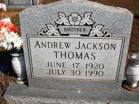 THOMAS, ANDREW JACKSON - Newton County, Arkansas | ANDREW JACKSON THOMAS - Arkansas Gravestone Photos