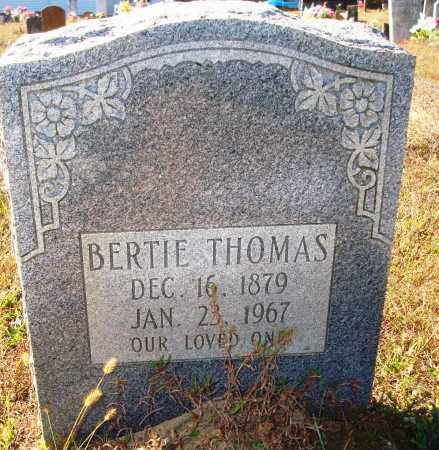 THOMAS, BERTIE - Newton County, Arkansas | BERTIE THOMAS - Arkansas Gravestone Photos