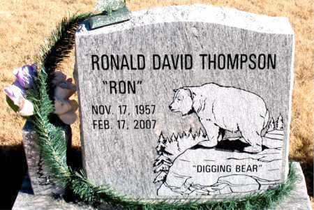 "THOMPSON, RONALD DAVID ""RON"" - Newton County, Arkansas | RONALD DAVID ""RON"" THOMPSON - Arkansas Gravestone Photos"