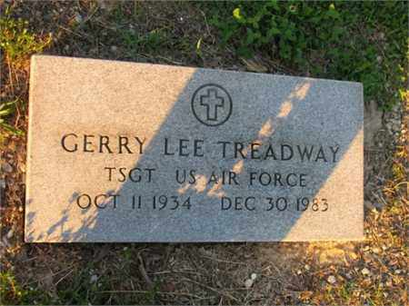 TREADWAY (VETERAN), GERRY LEE - Newton County, Arkansas | GERRY LEE TREADWAY (VETERAN) - Arkansas Gravestone Photos