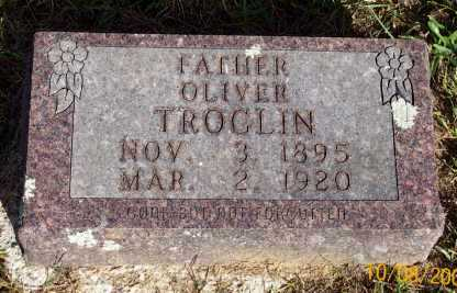 TROGLIN, OLIVER - Newton County, Arkansas | OLIVER TROGLIN - Arkansas Gravestone Photos