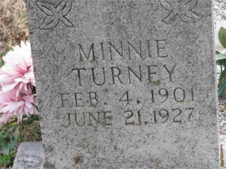 TURNEY, MINNIE - Newton County, Arkansas | MINNIE TURNEY - Arkansas Gravestone Photos