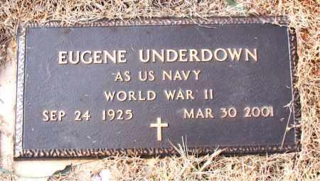 UNDERDOWN (VETERAN WWII), EUGENE - Newton County, Arkansas | EUGENE UNDERDOWN (VETERAN WWII) - Arkansas Gravestone Photos