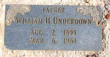 UNDERDOWN, WILLIAM H. - Newton County, Arkansas   WILLIAM H. UNDERDOWN - Arkansas Gravestone Photos