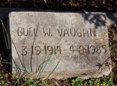 VAUGHN, BUEL W. - Newton County, Arkansas | BUEL W. VAUGHN - Arkansas Gravestone Photos