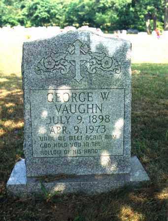 VAUGHN, GEORGE W. - Newton County, Arkansas | GEORGE W. VAUGHN - Arkansas Gravestone Photos