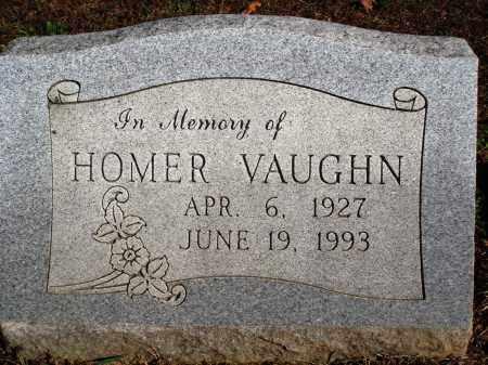 VAUGHN, HOMER - Newton County, Arkansas   HOMER VAUGHN - Arkansas Gravestone Photos