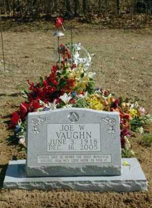 VAUGHN, JOE W - Newton County, Arkansas | JOE W VAUGHN - Arkansas Gravestone Photos