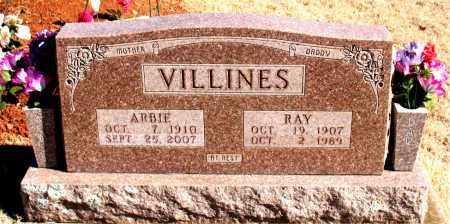 VILLINES, ARBIE - Newton County, Arkansas | ARBIE VILLINES - Arkansas Gravestone Photos