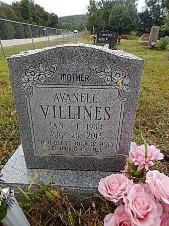 VILLINES, AVANELL - Newton County, Arkansas | AVANELL VILLINES - Arkansas Gravestone Photos