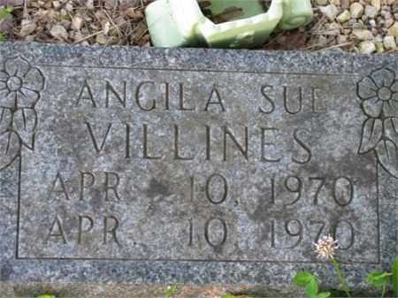 VILLINES, ANGILA SUE - Newton County, Arkansas | ANGILA SUE VILLINES - Arkansas Gravestone Photos