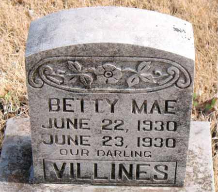 VILLINES, BETTY MAE - Newton County, Arkansas | BETTY MAE VILLINES - Arkansas Gravestone Photos