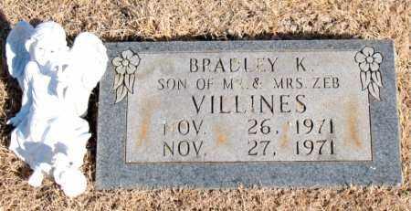 VILLINES, BRADLEY K. - Newton County, Arkansas | BRADLEY K. VILLINES - Arkansas Gravestone Photos