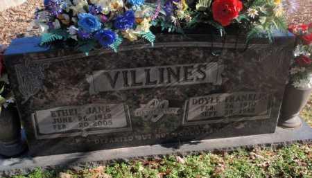 VILLINES, ETHEL JANE - Newton County, Arkansas | ETHEL JANE VILLINES - Arkansas Gravestone Photos