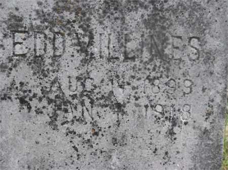 VILLINES, EDD - Newton County, Arkansas | EDD VILLINES - Arkansas Gravestone Photos