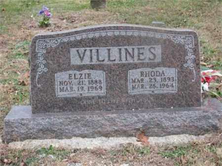 VILLINES, RHODA - Newton County, Arkansas | RHODA VILLINES - Arkansas Gravestone Photos