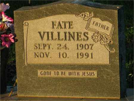 VILLINES, FATE - Newton County, Arkansas | FATE VILLINES - Arkansas Gravestone Photos