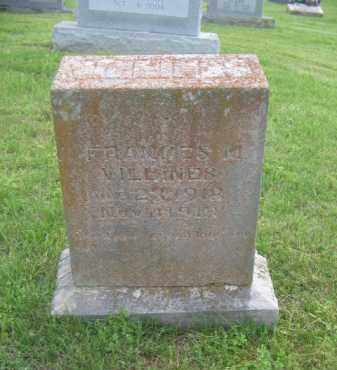VILLINES, FRANCES MAUREEN - Newton County, Arkansas   FRANCES MAUREEN VILLINES - Arkansas Gravestone Photos