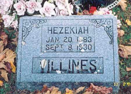 VILLINES, HEZEKIAH - Newton County, Arkansas | HEZEKIAH VILLINES - Arkansas Gravestone Photos