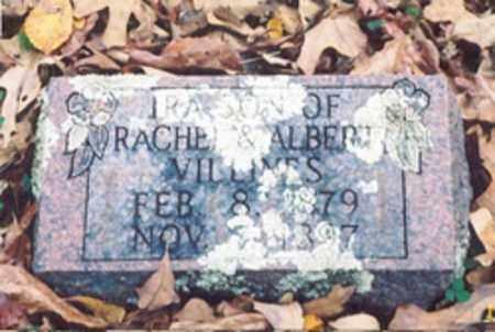 VILLINES, IRA - Newton County, Arkansas   IRA VILLINES - Arkansas Gravestone Photos