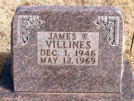 VILLINES, JAMES W. - Newton County, Arkansas | JAMES W. VILLINES - Arkansas Gravestone Photos
