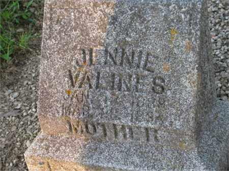 VILLINES, JENNIE - Newton County, Arkansas | JENNIE VILLINES - Arkansas Gravestone Photos