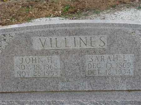 ROSEBERRY VILLINES, SARAH L. - Newton County, Arkansas | SARAH L. ROSEBERRY VILLINES - Arkansas Gravestone Photos