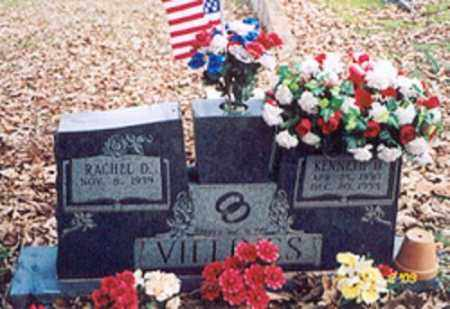 VILLINES, KENNETH D. - Newton County, Arkansas | KENNETH D. VILLINES - Arkansas Gravestone Photos
