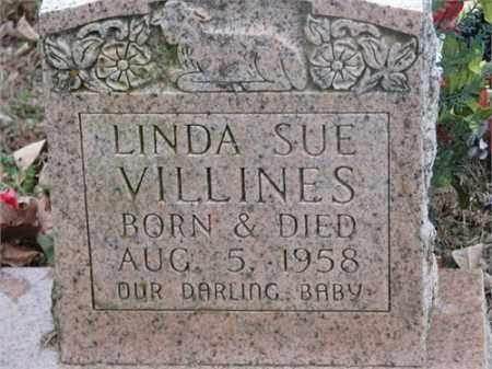 VILLINES, LINDA SUE - Newton County, Arkansas   LINDA SUE VILLINES - Arkansas Gravestone Photos
