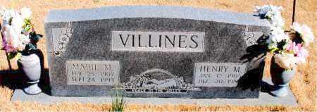 VILLINES, HENRY M. - Newton County, Arkansas | HENRY M. VILLINES - Arkansas Gravestone Photos