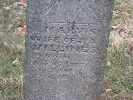 WISHON VILLINES, MARY SUSAN - Newton County, Arkansas | MARY SUSAN WISHON VILLINES - Arkansas Gravestone Photos