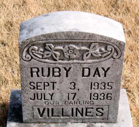 VILLINES, RUBY DAY - Newton County, Arkansas   RUBY DAY VILLINES - Arkansas Gravestone Photos